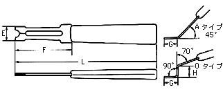 日本 OCHIAI E型卡簧钳 ETH-1.9卡环介子