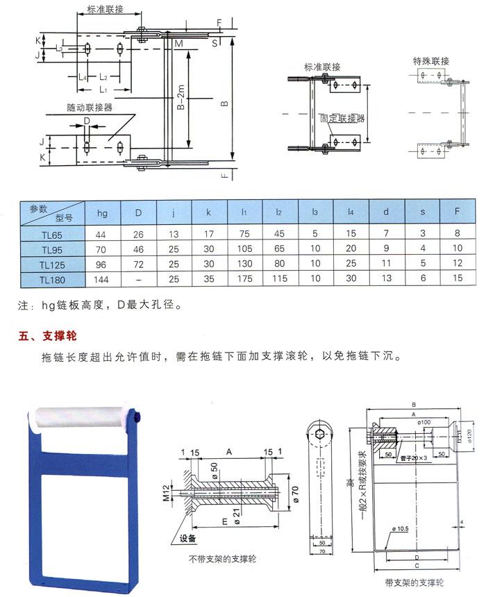 TL系列鋼制拖鏈