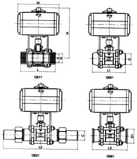 大田QB1-10单口排气阀