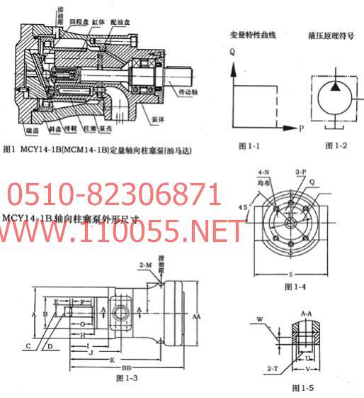250MCY14-1B   400MCY14-1B    定量泵