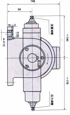YBX-40B  YBX-25/40B  YBX-25 YBX-25A    YBX-40     變量葉片泵