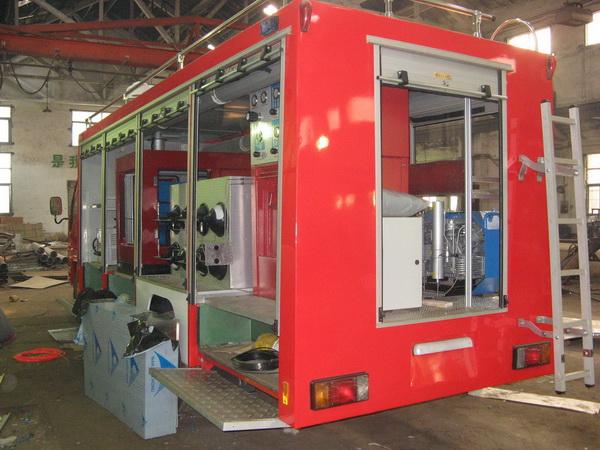 高壓壓縮機成功用于消防車充氣系統-麗升實業