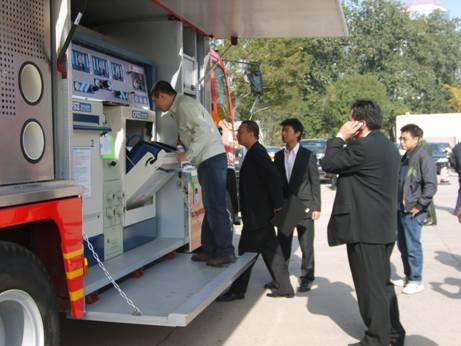 麗升實業圓滿參加第十二屆2008國際消防展