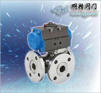 氣動三通球閥(調節型/開關型 SMQ644(45)型