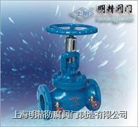 KPF型平衡閥/平衡閥/上海明精防腐制造有限公司021-63176597 KPF-16型