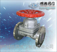 不銹鋼襯膠隔膜閥 GJ41X-10