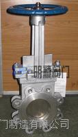 不銹鋼穿透式刀閘閥  PZ43H-16P
