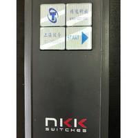 NKK可编程开关OLED带显示屏按钮型号ISF15ACP4现货批发 ISF15ACP4