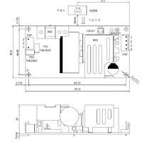 MW明纬开关电源模块代理商12V现货