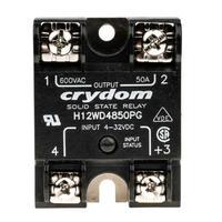 VDE认证Crydom固态继电器型号H12WD4850现货大电流 H12WD4850PG