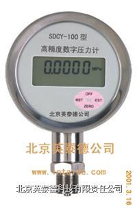 SDCY-100高精度型數字壓力表 SDCY-100高精度型數字壓力計