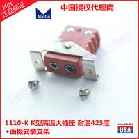 高溫熱電偶插座面板安裝組件