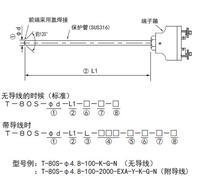 T-80S接線端子型鎧裝熱電偶溫度探頭