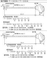 T-30N/T-35N接線盒高溫鎧裝熱電偶測溫探頭