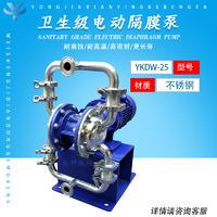 不锈钢卫生级电动隔膜泵