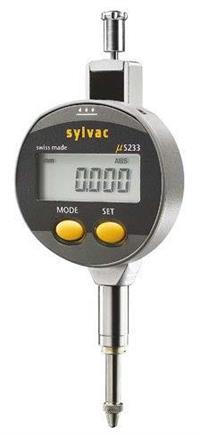 905.4525  12.5mm迷你表盘带保护套数显千分表 SYLVAC  905.4525