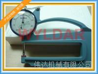 SM-114LS 10mm表盤式厚度表日本TECLCOK得樂上測頭:???3.2mm球形 下測頭:???10mm平面 SM-114、SM-114LS、SM-114LW、SM-114P
