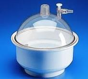 真空干燥器 PP材質,透明聚碳酸酯蓋,氯丁橡膠O型圈