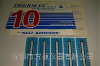 十格A型 熱敏試紙40-104° 英國THERMAX溫度美 不可逆溫度試紙```