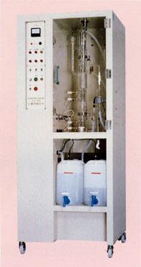 透明石英玻璃制2段蒸餾裝置(全自動式) 02400401 NZJ-1DS型