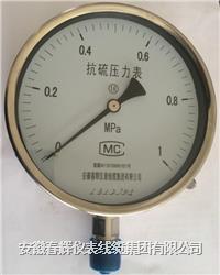 抗硫压力表 YTS-100  YTS-150