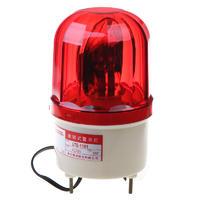 南州警示燈LTE-1101無聲旋轉式報警燈不帶聲螺絲底座