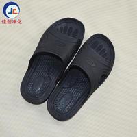 厂家直销黑色防静电拖鞋 SPU