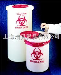 Nalgene,6370-0004, 生物危險廢品容器(PP),5.5L 6370-0004,5.5L
