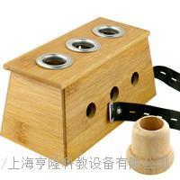 竹制三孔灸盒