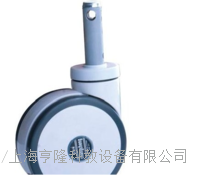 Φ150中控雙軸承全製動腳輪 I10