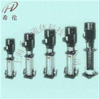 輕型立式不銹鋼多級泵