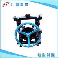 手動隔膜抽吸泵搶險救援泵手搖吸油泵手動隔膜泵