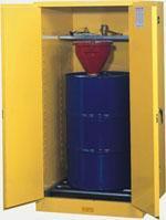 单油桶安全储存柜 油桶竖放型,8962001