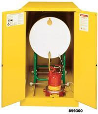 单油桶安全储存柜 油桶横放型,899300
