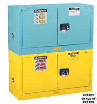 12加仑叠加式低腐蚀化学品柜 891302,29871B,891322
