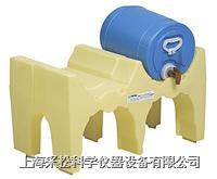 小双桶单层分装防漏堆栈系统 Enpac,6012-YE,与托盘配套