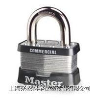 可换锁胆千层挂锁 Master lock,21系列,44mm宽锁体,8mm粗锁钩