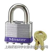 安全钢千层挂锁 Master lock,1系列,44mm宽锁体,24mm长锁钩