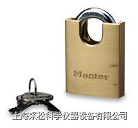 包钩铜挂锁 Master lock,2250系列,50mm宽锁体,9mm粗锁钩