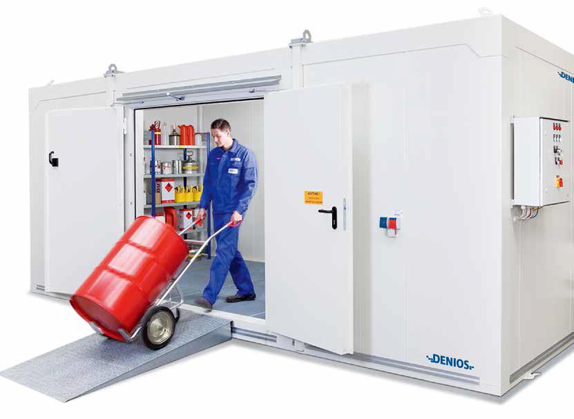DENioses德国安全环境保护措施/室内外危险品存储系统