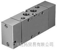 FESTO基本阀SV-5-M5-B前面板安装11914 JMFH-5-3/8-B