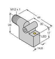 深入了解;TURCK壓力傳感器PS01VR-304-LI2UPN8X-H1141