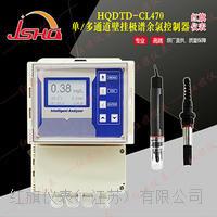 单/多通道壁挂极谱余氯控制器