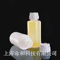 美國Nalgene 2125耐磨損瓶,密度聚乙烯;白色聚丙烯螺紋蓋 2125