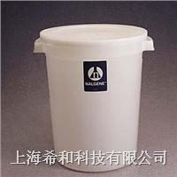 美國Nalgene 7142大號圓形容器(帶蓋),高密度聚乙烯 7142