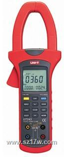 UT243电力钳形谐波功率计 UT243