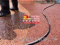 礫石地坪,礫石聚合物混凝土,露骨料洗出自然石路麵