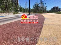 礫石地坪,礫石聚合物混凝土,露骨料洗出自然石路面
