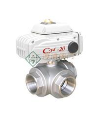 電動三通內螺紋球閥 Q914/Q915
