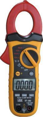 小型雙注塑自動量程交/直流鉗型表DT-363**** DT-363